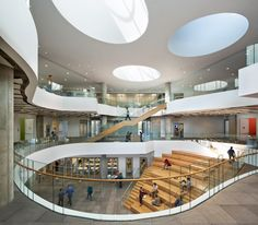 adaptable dorm rooms | Henry W. Bloch Executive Hall Bloch School of Management by Moore ...