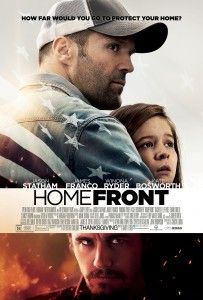 Homefront is a 2013 American action thriller film directed by Gary Fleder. Based on Chuck Logan's novel of the same name and adapted into a screenplay by *Sylvester Stallone, the film stars Jason Statham, James Franco, Winona Ryder, and Kate Bosworth. Jason Statham Movies, Films Hd, Hd Movies, Movies And Tv Shows, Watch Movies, Movies Free, Indie Movies, Comedy Movies, Movie Posters