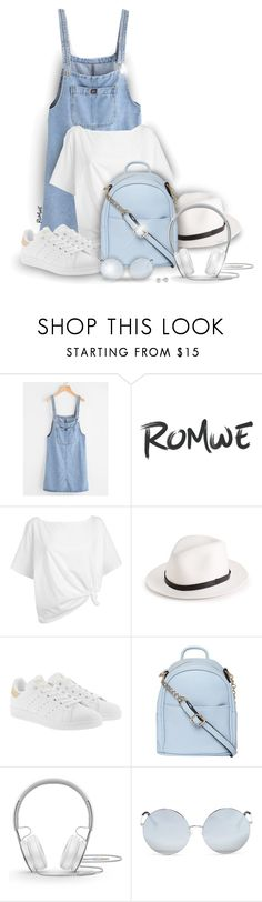 """""""Comfy summer look!"""" by asia-12 ❤ liked on Polyvore featuring Red Herring, rag & bone, adidas Originals, Dorothy Perkins, Beats by Dr. Dre, Matthew Williamson and Jewelonfire"""
