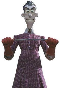 Mrs. Tweedy is the main villain in Chicken Run.