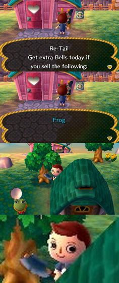 If you know animal crossing new leaf, you'll understand