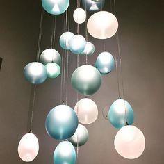 these Aqua Moonlights pendants from @amstudiolighting . . . . #decor  #interiordecor  #interiordecoration  #homedecor  #design  #homedesign  #interiordesign  #interiordesigner  #interiorstyling #interiorinspiration  #interiordesignideas  #designideas  #decorideas  #toronto #interiordesigns  #decoration  #decorate  #homedecoration  #instadesign  #instadecor  #instainteriordesign  #interiordesigntoronto  #interiordecortoronto  #designtoronto  #torontointeriordesign #torontodesign  #lighting…