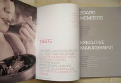 TAMDEEN ANNUAL REPORT by Morgane Saout, via Behance