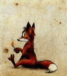 Вот оно то состояние, когда хочется шкодничать ))))  Die Ws: Illustration
