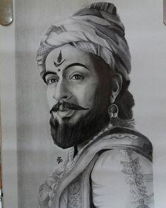 How to Draw Shivaji Maharaj Face pencil drawing step by step Portrait Sketches, Art Drawings Sketches, Pencil Portrait, Face Pencil Drawing, Abstract Pencil Drawings, Shivaji Maharaj Painting, Shivaji Maharaj Hd Wallpaper, Cute Disney Drawings, Disney Pencil Drawings