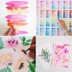 How This Watercolor Artist Became Insta-Famous via Brit + Co.