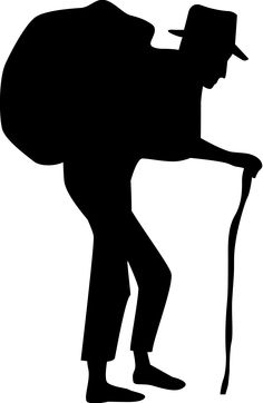 old silhouette pictures | Participating in Christ's Suffering