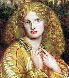 Dante Gabriel Rossetti, 1863, Helen of Troy. Sitter: Annie Millar