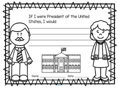 ***FREE*** Discuss, dictate and color… This is a discussion starter printable for early learners. Use to introduce the vocabulary and basic concept of the President, the White House, the flag and the United States as a country.