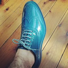 Awesome! Vivienne Westwood plastic orb wingtips! #feetfirstintofashion #Zappos