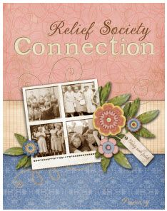 Connection Binders- Relief Society news for other auxiliaries