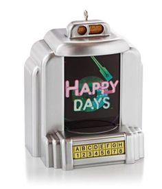 2013 Happy Days  Hallmark MAGIC Ornament  SHIPS JULY 15