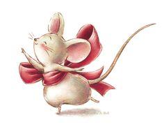 J. Bell Studio: Toe Shoe Mouse