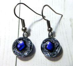 Pierced Earrings / Fused Glass(MJ-082)