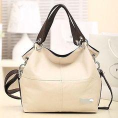 Women PU Leather Handbags Vintage Ladies Classical Messenger Shoulder Bags