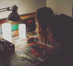 Late nights in the Studio.