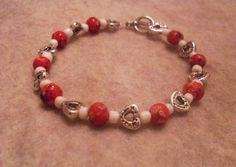 Memorial Bracelets : using dried flowers and clay to make bracelets