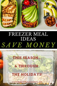 Meal Planning Tips on How To Save Money With Freezer Meals - Modern Moms Lifestyle