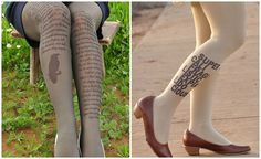 Literary Looks: Bookish Tights and Leggings | Quirk Books : Publishers & Seekers of All Things Awesome