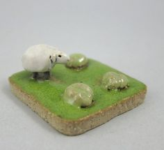 MyLand   Cabbage Thief  Collectible 3x3 cm or 1.2x1.2 by elukka