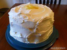 Icebox Lemon Angel Food Cake » Joyful Homemaking