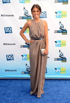 Nikki Reed in Lela Rose at the 2012 Do Something Awards