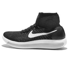 510dd5e4794cd Nike Womens Lunarepic Flyknit Running Trainers 818677 Sneakers Shoes US 8 black  white anthracite volt 007