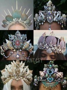 Halloween mermaid crown                                                                                                                                                       More