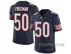 http://www.yesnike.com/big-discount-66-off-mens-nike-chicago-bears-50-jerrell-freeman-elite-navy-blue-rush-nfl-jersey.html BIG DISCOUNT ! 66% OFF ! MEN'S NIKE CHICAGO BEARS #50 JERRELL FREEMAN ELITE NAVY BLUE RUSH NFL JERSEY Only $26.00 , Free Shipping!