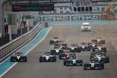 ¡21 carreras! en el nuevo calendario de la F1 para 2015