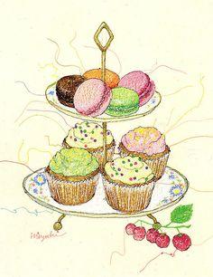 Miyuki Sakai, cupcakes