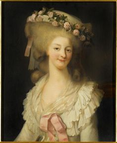 Maria Louise of Savoy, Princess of Lamballe; by Rioult Louis Edouard. Her father was Louis Victor, Prince of Carignano. She was married to Louis Alexandre, Prince of Lamballe.