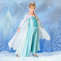 Elsa Limited Edition Costume for Girls - Frozen $149