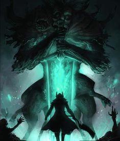 Sif Dark Souls, Arte Dark Souls, Dark Fantasy Art, Anime Fantasy, Ricky And Morty, Bloodborne Art, Old Blood, Demon Art, Fantasy Comics