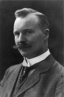 """Nils Gustaf Dalén (30 November 1869 – 9 December 1937) was a Swedish businessman who founded the AGA company and invented the AGA cooker. In 1912 he was awarded the Nobel Prize in Physics for his """"invention of automatic regulators for use in conjunction with gas accumulators for illuminating lighthouses and buoys""""."""