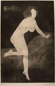 Untitled (Nude II)  Waiting T  Jiří Balcar