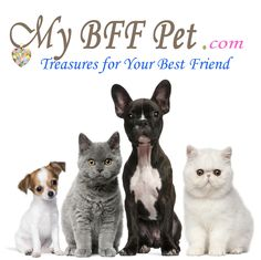 Find a treasure for your Best Friend at www.mybffpet.com