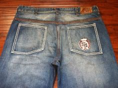 SEAN JONHS BIG AND TALL 100% COTTON DENIM JEANS SIZE 38X38. GREAT CONDITION!