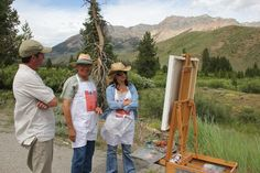 From Finearttips.com  Marketing w/ painting plein air -painting artists