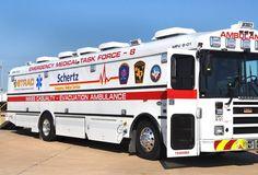 Mass Casualty Evacuation Ambulance:  www.blackenwolf.com .... Military & 1st Responder LED Logo Lights