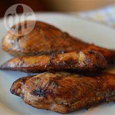 Marinade pour poulet grillé @ allrecipes.fr