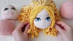 New Haircut Styles – Hair Cut Models And Styles Crochet Doll Pattern, Crochet Toys Patterns, Crochet Dolls, Doll Patterns, Crochet Stitches, Crochet Eyes, Cute Crochet, Crochet Doll Clothes, Crochet Videos
