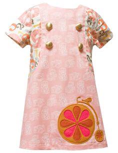 "Decaf Plush ""Carnival"" Dress"