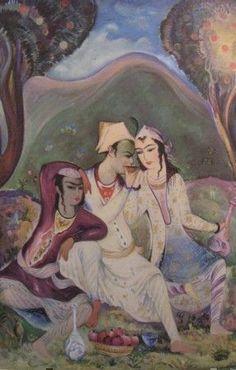Rubaiyat, illus. c. 1946 by Sarkis Katchadourian