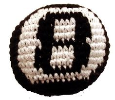 Eight Ball Hacky Sack / Footbag - Hand Crocheted made in Guatemala - Comes with Tips & Game Instructions - 8-Ball... $5.99 (8% OFF)