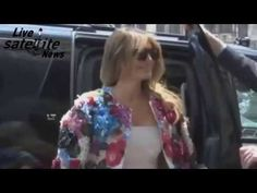 Stunning Melania Trump in Floral Jacket Arrives to meet G7 Wives in Italy