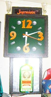 Yager clock made from recycled and re-purposed material by Kevin Reed @ Creatively Kustomized