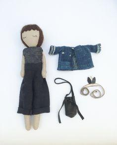 Cute linen handmade dolls & home goods by Kathryn Davey - CuteandKids