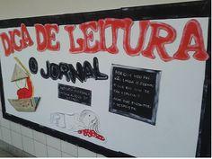 Painel Dica de Leitura - Escola Experimental - Ana Dias