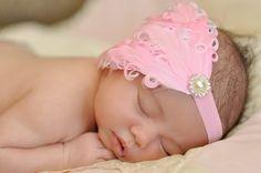 Etsy has amazing baby headbands....